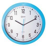 Horloge Couleur à quartz bleu