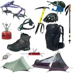Equipement de randonnée