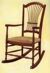 Rocking chair gerbe réf.  chaise056