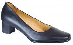 Chaussure femme cuir noir
