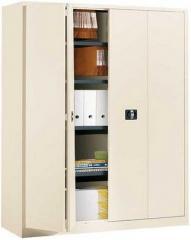 Armoire métallique portes pliantes