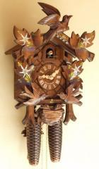 Horloge coucou 8 jours - Oiseaux mobiles 45-115V8