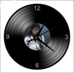 Horloge murale disque vinyle 33 Tours photo 12cm