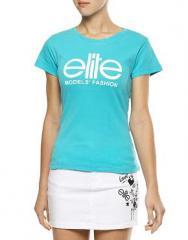 Tshirt Elite Model Turquoise