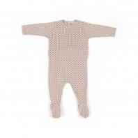 Pyjama bébé à cœurs