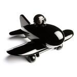 Jouet avion Jetliner noir playsam