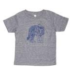 T-shirt Makié tigre gris