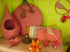 Les objets de décoration