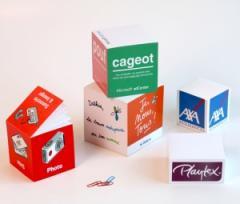 Bloc cube papier 10 x 10 x 10 cm