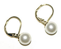 Boucles d'oreilles femme pendants Perles Diam 1 cm Earringpearls Dollymoon
