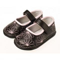 Chaussures filles › Fleurs Brodées - Jack and Lily