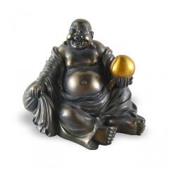 Statuette Bouddha rieur assis