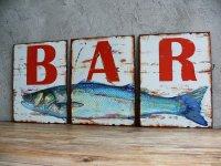 """Plaque décorative """"Le bar"""""""