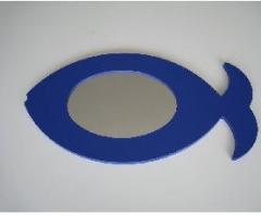 Le miroir decoratif en forme de poisson