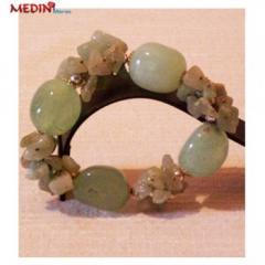 Bracelet en phrénite BJ064