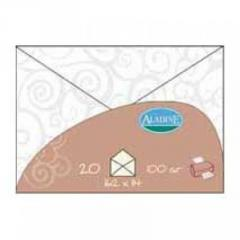 20 enveloppes voile arabesque 100 gr