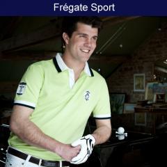 Polo Frégate sport anis