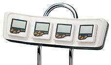 Console à instruments pour protecteur de compas