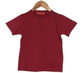 Tee-shirt manches rouge d'alizarinecourt