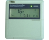 Régulation solaire pour le contrôle d'un chauffe