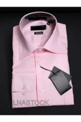 Chemise pur coton rose