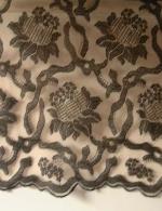 Robe tissu polyamide brodé