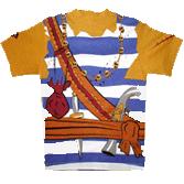 T-shirt de pirate