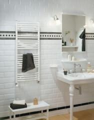 Radiateur sèche-serviettes en acier Palma Spa