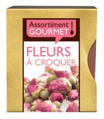 Assortiment Gourmet Fleurs à croquer