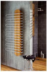 Radiateur sèche-serviette Sanaga Teck