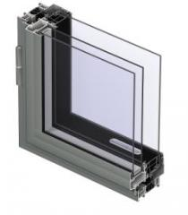 Système pour fenêtres à ouvrant caché XS 50-BR