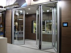 Système de portes repliables CF 77