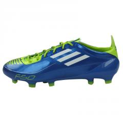 Chaussure de football  adidas F50 Adizero TRX FG bleu vert  - adidas