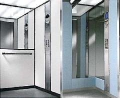 Ascenseur électrique avec local machinerie