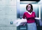 L'ascenseur des immeubles du tertiaire