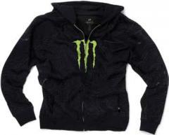 Sweat zippé tektonic black Monster moto 2011