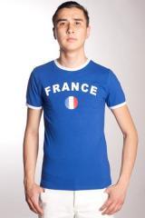 T-shirt pour les supporters de la FRANCE, vêtement pour les amoureux du sport K016