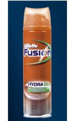 Gel à raser Gillette Fusion HydraGel Peau sensible