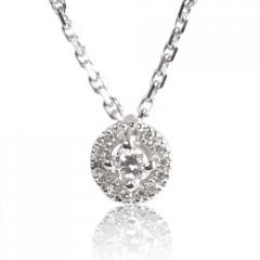 Collier diamant 0.22 ct Réf : CL4131