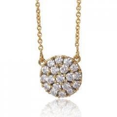 Collier diamant 0.76 ct Réf : EPD52487-076