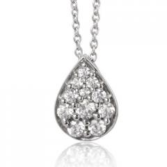 Collier diamant 0.52 ct Réf : EPD52491-052