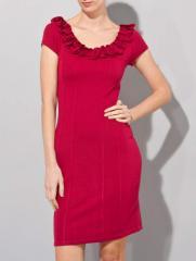 Robe 'Fleur' - Rouge