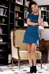 Robes (42)XL - Robes sasha taille:42 couleur:Bleu - ref: V5717-42