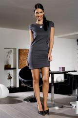 Robes (42)XL - Robes taille:42 couleur:Gris - ref: V5701-42