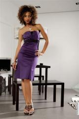 Robes (42)XL - Robes calixta taille:42 couleur:Violet - ref: V5648-42
