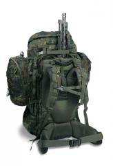 Sac à dos militaire avec système de transport