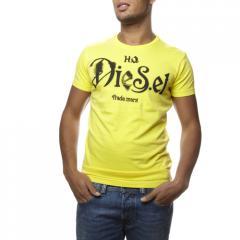 T-shirt Diesel Ninao jaune