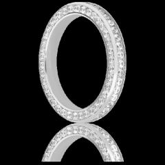 Alliance Alhama en Or blanc & Diamants