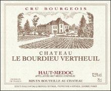 Vin Haut-Médoc Château le Bourdieu-Vertheuil