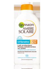 Lait protecteur UV Sensitive Garnier Ambre Solaire